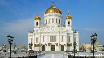 Cathedral of Christ the Savior in Moscow. (Source: dpa/Andreas Lander)