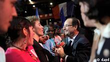 پیشبینی میشود فرانسوا اولاند در انتخابات ریاستجمهوری فرانسه پیروز شود