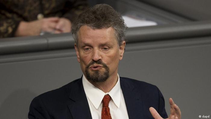 Заместитель лидера фракции СДПГ в бундестаге Гернот Эрлер