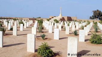 Cemeteries of soldiers who lost their lives in World War II