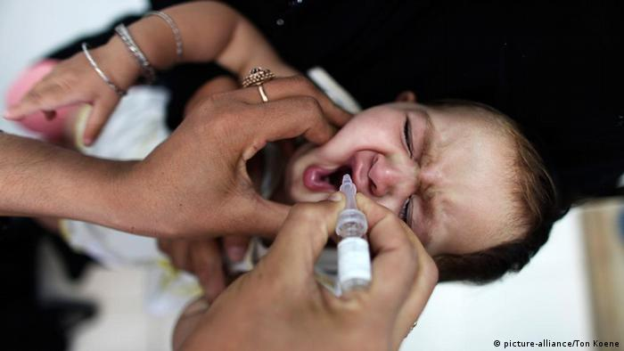 Afghanistan Impfkampagne in Kabul Polio (picture-alliance/Ton Koene)