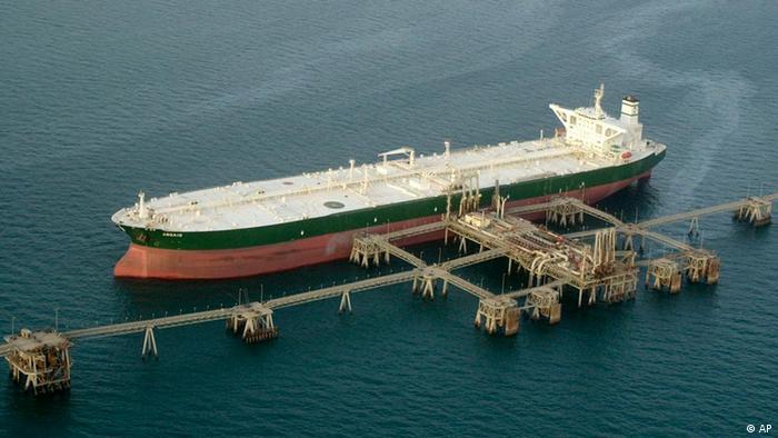 Öltanker mit irakischem Öl Archivbild 2003