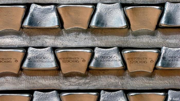 Aluminium-Barren