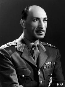 Mohammad Zahir Shah is seen in this July 16, 1963 file photo. Zahir Shah, the last king of Afghanistan who returned from three decades of exile to bless his war-battered country's fragile course toward democracy, has died, President Hamid Karzai said Monday July 23, 2007. He was 92. (AP Photo)