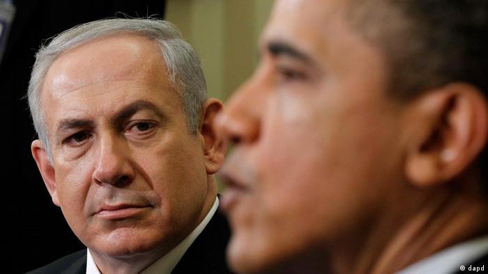Барак Обама и Беньямин Нетаньяху