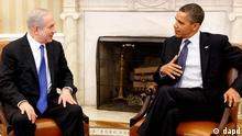 باراک اوباما و بنیامین نتانیاهو رهبران آمریکا و اسرائیل