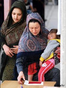شرکت شهروندان ترکمن در انتخابات مجلس