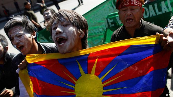 Tibet Selbstverbrennung Nepal Demonstration