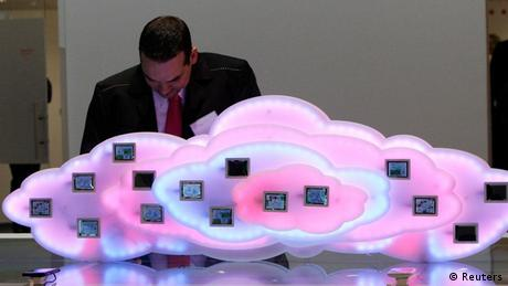 CeBIT 2012 Cloud Computing Telekom (Reuters)