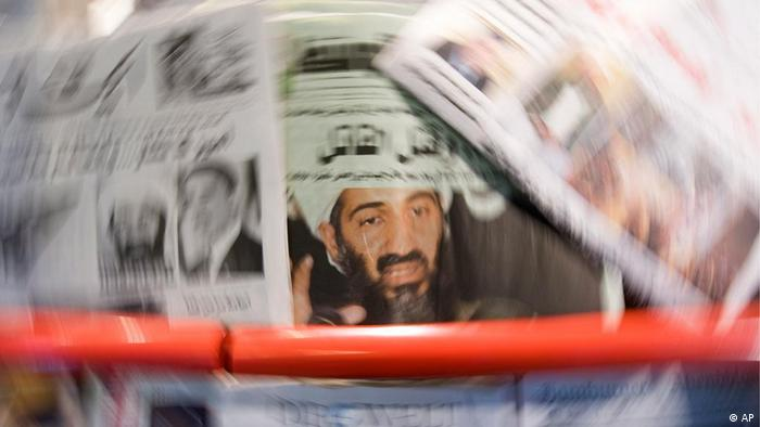 different newspapers showing bin Laden on cover. (zu dapd-Text) Foto: Steffi Loos/dapd