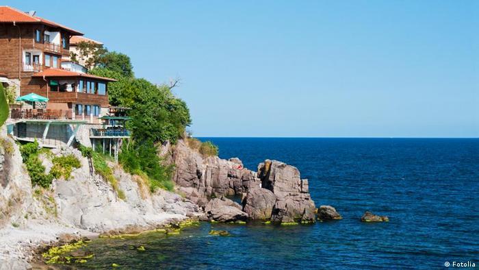 Bulgarien Schwarzes Meer Sommer Bucht Haus