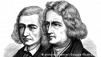 Portrrait of the Brothers Grimm