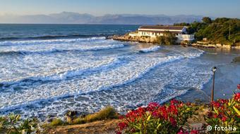 Strand Griechenland Korfu