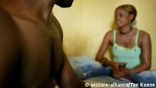 prostitution in the slums of Nigeria.