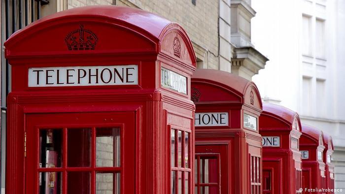 London Telefonhäuschen
