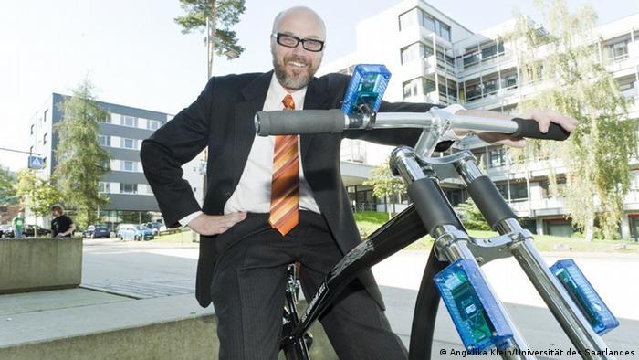 Cebit 2012 Die drahtlose Fahrradbremse