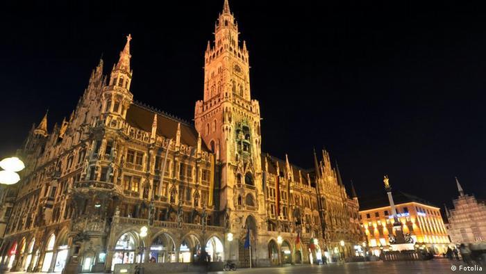 Beliebteste Sehenswürdigkeiten Deutschlands München Marienplatz (Fotolia)