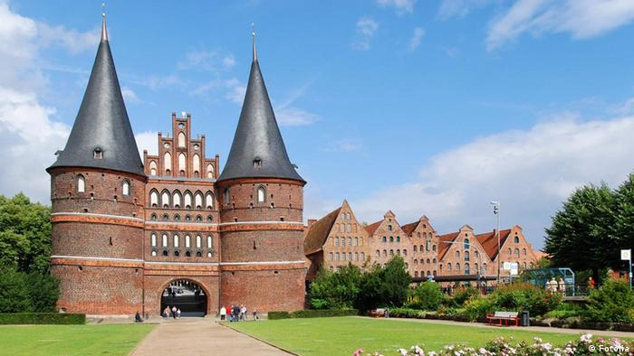 Germany Holsten Gate Lübeck