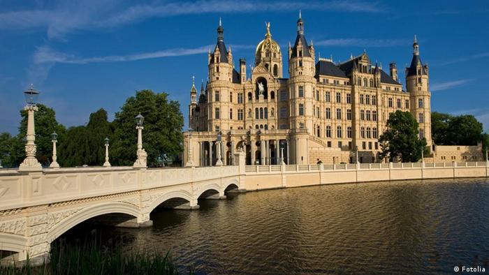 Beliebteste Sehenswürdigkeiten Deutschlands Schweriner Schloss