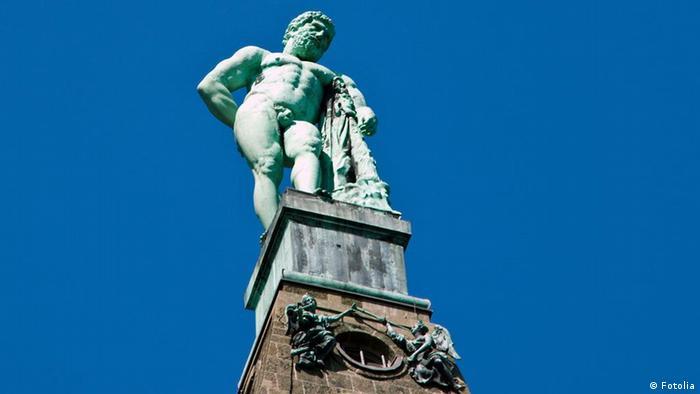 Beliebteste Sehenswürdigkeiten Deutschlands Herkules in Kassel