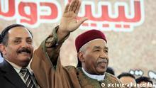 شیخ احمد زبیر السنوسی، از خویشاوندان پادشاه سابق لیبی به عنوان رئیس این شورا انتخاب شده است