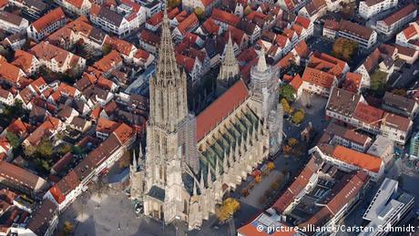 Ulmer Münster, größter Kirchturm der Welt, Baden-Württemberg