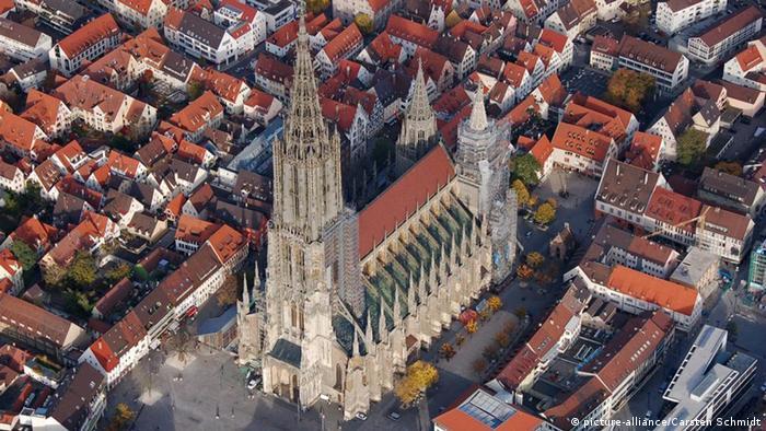 Beliebteste Sehenswürdigkeiten Deutschlands Ulmer Münster