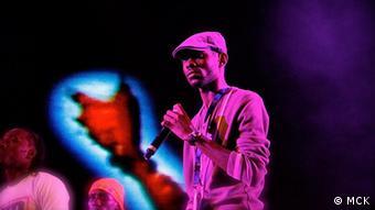 Rapper MCK aus Angola