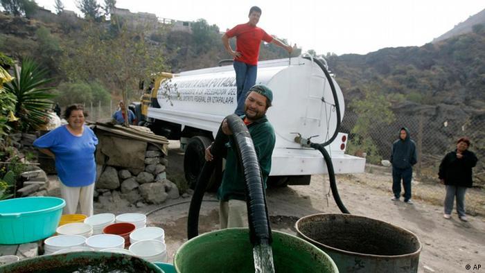 Bildergalerie Das Recht auf sauberes Wasser Mexiko Tanklaster