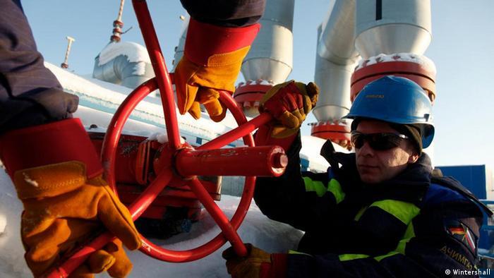 Das deutsch-russische Joint Venture Achimgaz, ein Tochterunternehmen der Gazprom und der Wintershall, bohrt in West-Sibirien nach Erdgas. Copyright: Wintershall Moskau, 2012