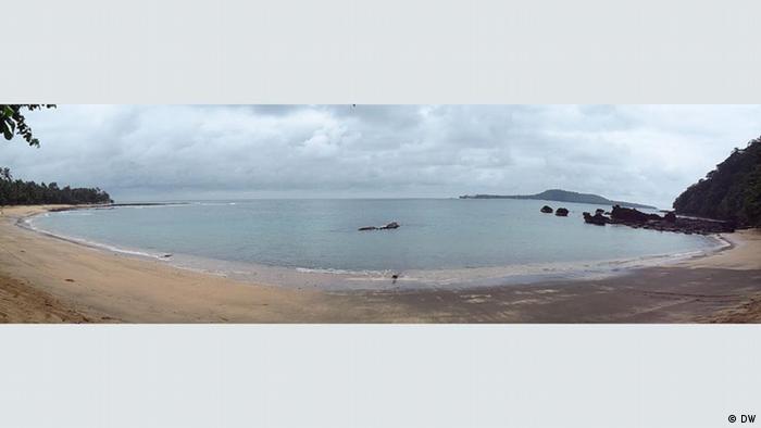 Strand auf São Tomé