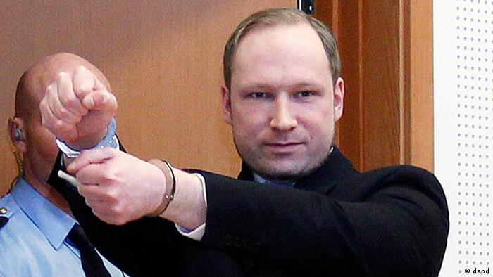 Anders Behring Breivik (Foto: dapd)