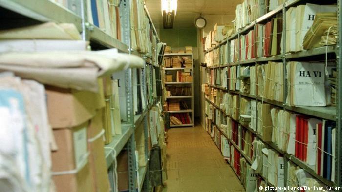 Архив штази в Берлине