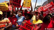 Streik in Südafrika
