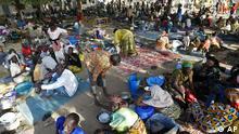 Kamerun Zentralafrikanische Republik Flüchtlinge in Kousseri
