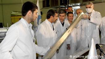 Iran Atomprogramm Atom Streit Ahmadinedschad Teheran