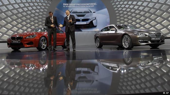 На презентации новой модели BMW 6 Grande Coupe