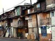 Cinturón de pobreza alrededor de Sao Paulo, Brasil.