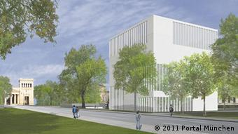 An artist's impression of how the documentation center will look in 2014