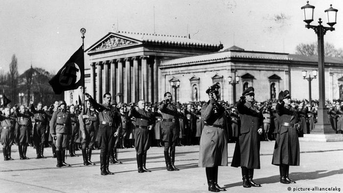 Площа Königsplatz у Мюнхені, 1940 рік