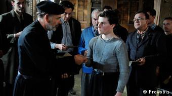 El joven Guy Môquet poco antes de su ejecución.