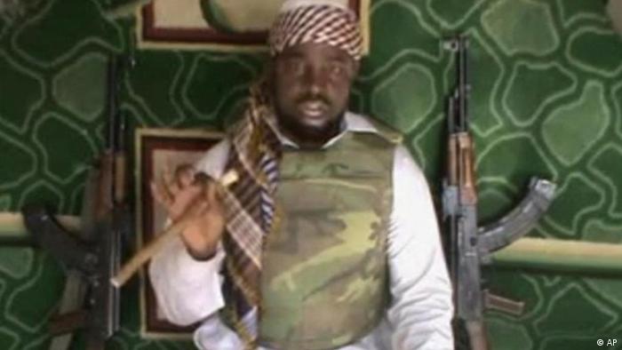 Nigeria Terror Leiter der Terrorgruppe Boko Haram Sektenführer Imam Abubakar Shekau