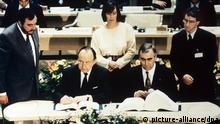 Unterzeichnung des Maastricht-Vertrages
