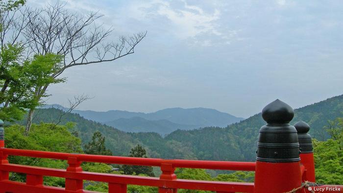 Região de Kyoto, antiga capital do Japão: o país é montanhoso e tem poucas terras aráveis. Por isso, procura novas fontes para a importação de alimentos