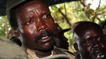 The leader of the Lord's Resistance Army, Joseph Kony. (Photo by Stuart Price, dapd)