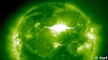 Sonnensturm / Sonne / Weltraum