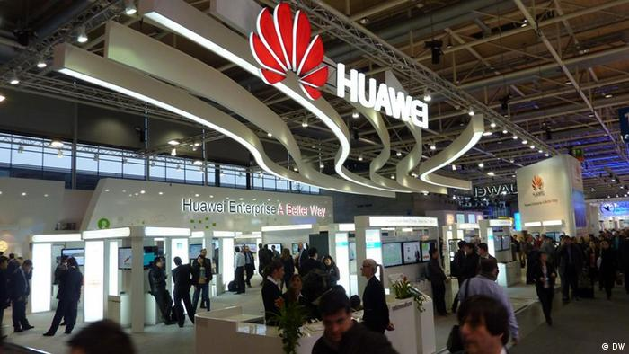 CeBIT Hannover Stand: Huawei