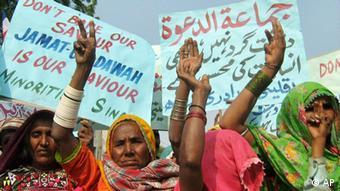 Pakistanische Frauen der Hindu Minderheit