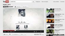 Screenshot Joseph Kony 2012 Youtube-Video http://www.youtube.com/watch?v=Y4MnpzG5Sqc Bild: 09.03.2012 ***Bild nur im Zusammenhang mit der Berichterstattung über das betreffende Youtube-Video zu verwenden***