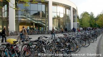 Одно из зданий Ольденбургского университета